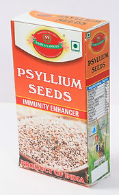 """Psyllium are produced commercially in several European countries, the 