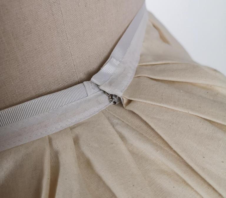 Victorian petticoat Fastening