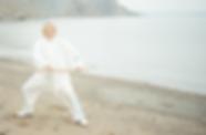 """Gesundheits-Qigong dient der """"Stab"""" zur Führung der Glieder."""