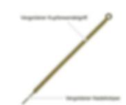 Akupunktur Nadeln Goldnadeln TCM