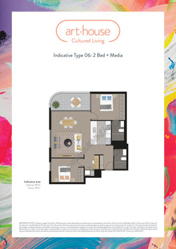 WMARKED Art House - Type 06 Floor Plan -2 bed+media-page-001