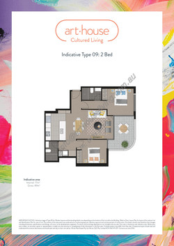 WMARKED Art House - Type 09 Floor Plan -2 bed-page-001