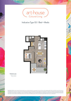 WMARKED Art House - Type 02 Floor Plan -1 bed+media - 1082 only-page-001