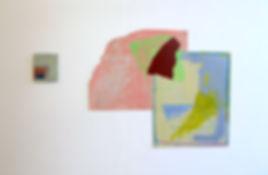 Lizzie Munn, Installation view of Interim