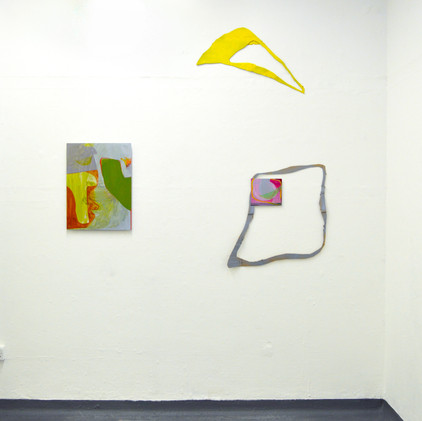 Installation view of Cross Year