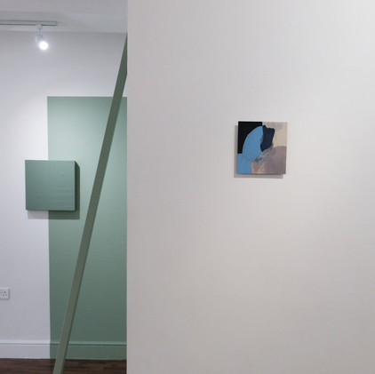 Installation view of Perhaps we should have stayed at Hoxton 253