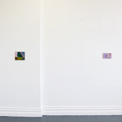 Installation view of Degree Show
