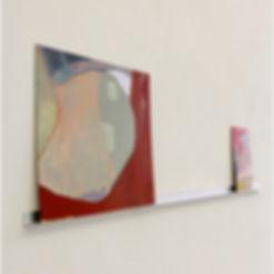 Lizzie Munn, Installation view of Jahresausstellung
