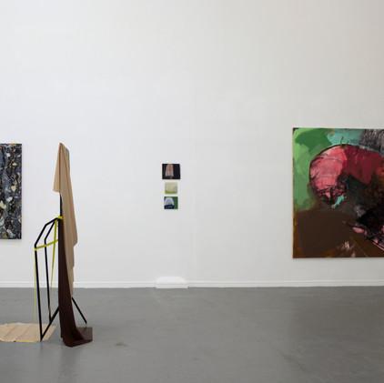 Installation view of Catamaran at Thames-side Studios Gallery
