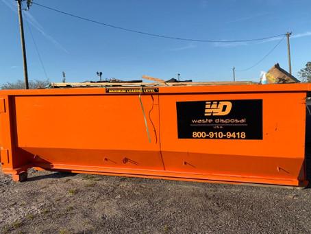 When You Should Order 20-yard Dumpster?