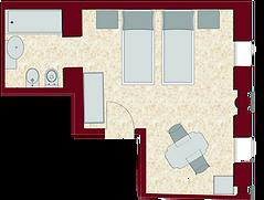 Camera superior letti singoli/matrimoniale