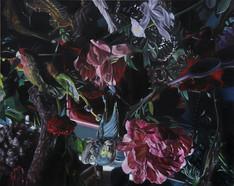 Serie Naturaleza muerta · Óleo sobre tela · 40 x 50 cm · 2016