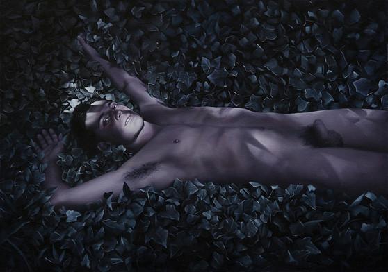 Esteban · Oil on canvas · 50 x 70 cm · 2017