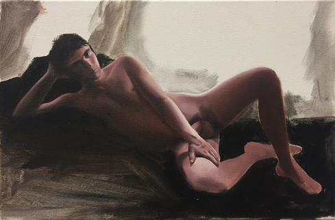 Rodrigo Vásquez · Óleo sobre tela · 20 x 30 cm · 2014