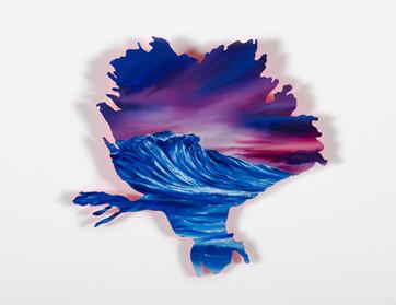 Series Sireno · Oil on mdf · 21 x 22 cm · 2020