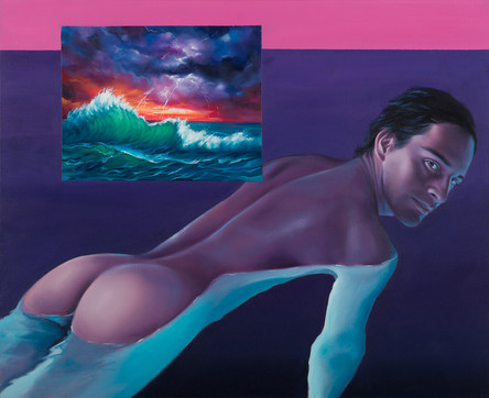 Series Sireno · Oil on canvas · 44 x 54,5 cm cm · 2018