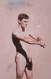Ignacio · Óleo sobre tela · 55 x 40 cm · 2017