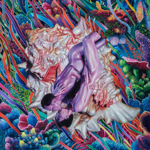 Series Sireno · Oil on canvas · 49,5 x 49,5 cm · 2020