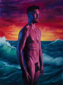 Series Sireno · Oil on canvas · 39,5 x 29,5 cm · 2019