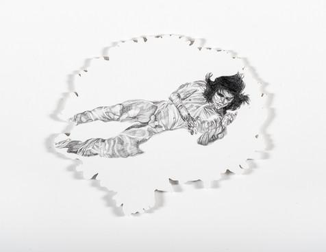 Serie Sireno · Grafito sobre mdf · 21 x 27 cm · 2020