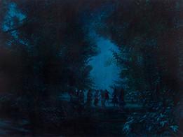 Blind man's buff · Oil on canvas · 160 x 210 cm · 2010