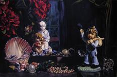 Todo el amor que perdí · Óleo sobre tela · 210 x 330 cm · 2007