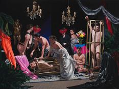Sicalíptico · Óleo sobre tela · 150 x 200 cm · 2016