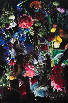 Serie Naturaleza muerta · Óleo sobre tela · 120 x 80 cm · 2018