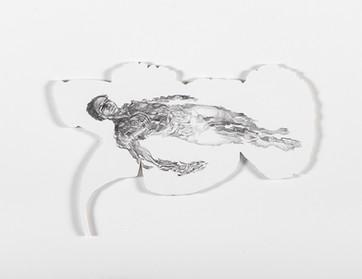 Series Sireno · Oil and graphite on mdf · 21 x 31 cm · 2020