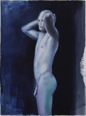 Serie Sireno · Óleo sobre mdf · 32 x 24 cm · 2020