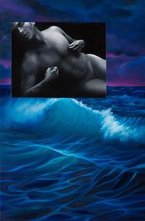 Serie Sireno · Óleo sobre tela · 35 x 23 cm · 2019