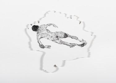 Series Sireno · Oil and graphite on mdf · 23 x 25 cm · 2020