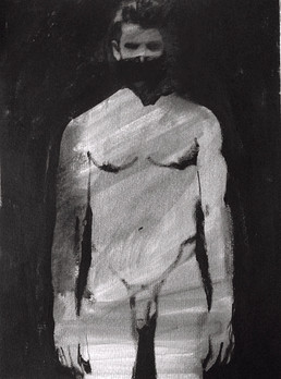 Oil and graphite on paper · 32 x 24 cm · 2013