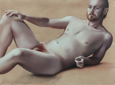 Phillip · Óleo sobre tela · 30 x 40 cm · 2016