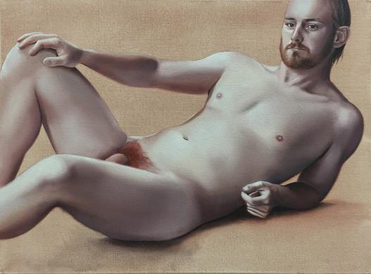 Phillip · Oil on canvas · 30 x 40 cm · 2016