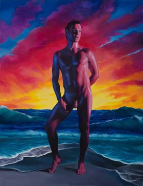 Series Sireno · Oil on canvas · 53,5 x 41,5 cm · 2019