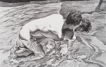 Graphite on paper · 19 x 30 cm · 2017