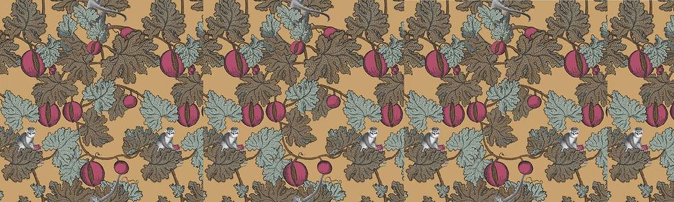 Fornasetti wallpaper Ca' Monteggia