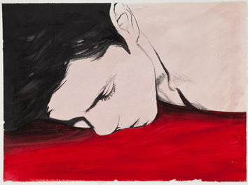 Oil and graphite on paper · 24 x 32 cm · 2013