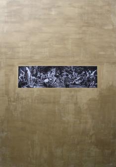 Estudio para Torrente altamente erótico · Óleo sobre tela · 220 x 150 cm · 2014