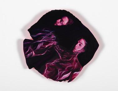 Series Sireno · Oil on mdf · 20 x 20 cm · 2020