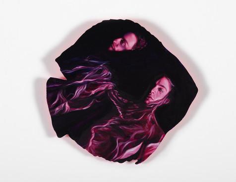 Serie Sireno · Óleo sobre mdf · 20 x 20 cm · 2020