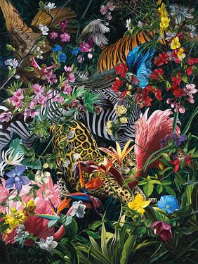Series Paradise Found · Oil on canvas · 200 x 150 cm · 2015