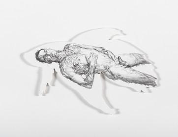 Series Sireno · Oil and graphite on mdf · 20 x 30 cm · 2020