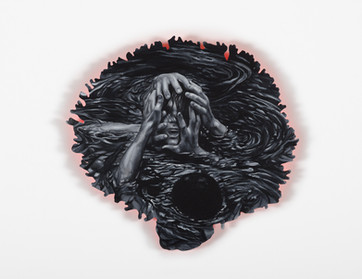 Series Sireno · Oil on mdf · 22 x 24 cm · 2020