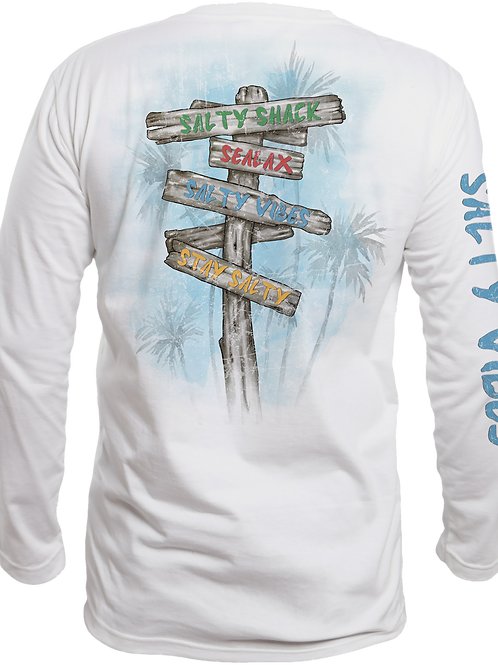 BEACH SIGN-PERFORMANCE LONG SLEEVE