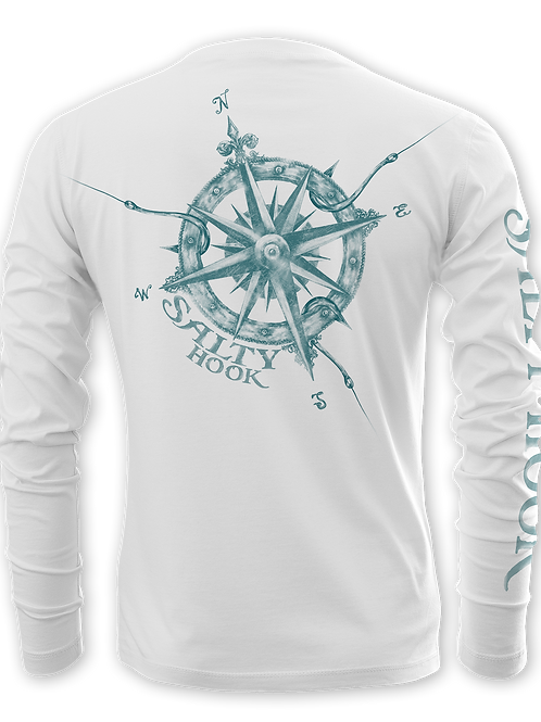 SALTY COMPASS-PERFORMANCE LONG SLEEVE