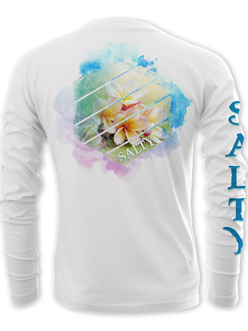 FLOWERS-HEXAGON SHAPE-PERFORMANCE LONG SLEEVE