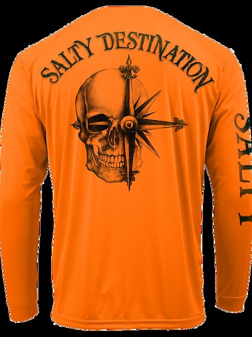 SALTY DESTINATION-PERFORMANCE LONG SLEEVE