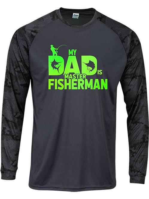 CAMO FISHERMAN-LONG SLEEVE